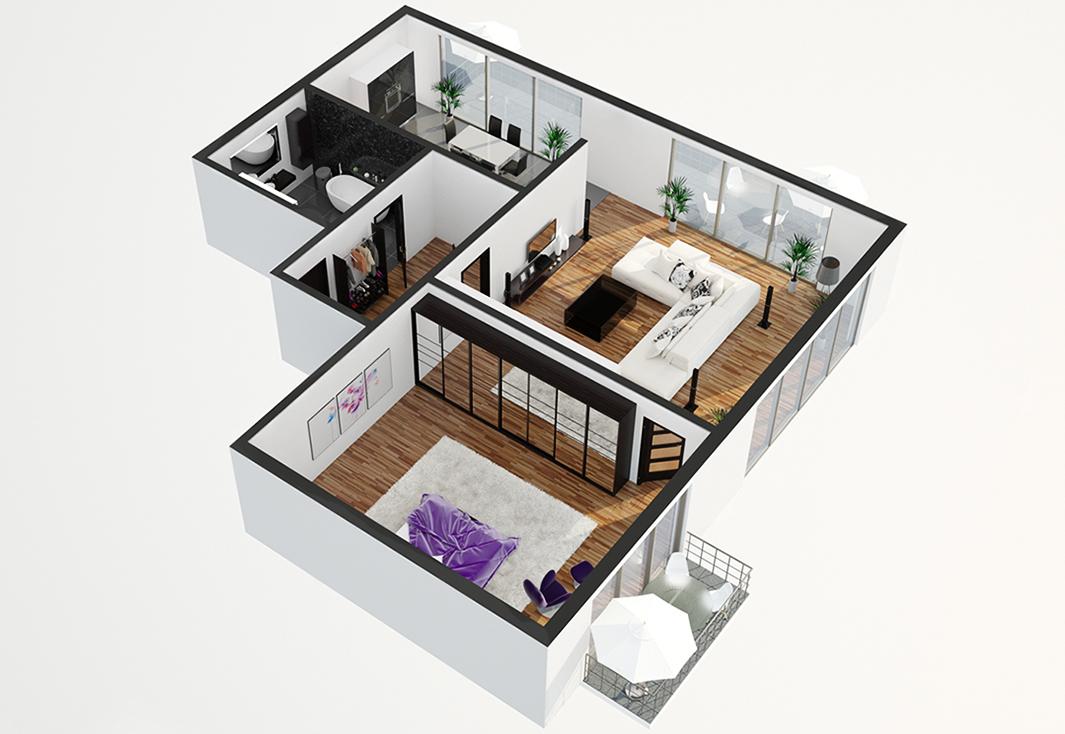 3d grundriss. Black Bedroom Furniture Sets. Home Design Ideas